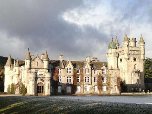 Sunny Balmoral Castle